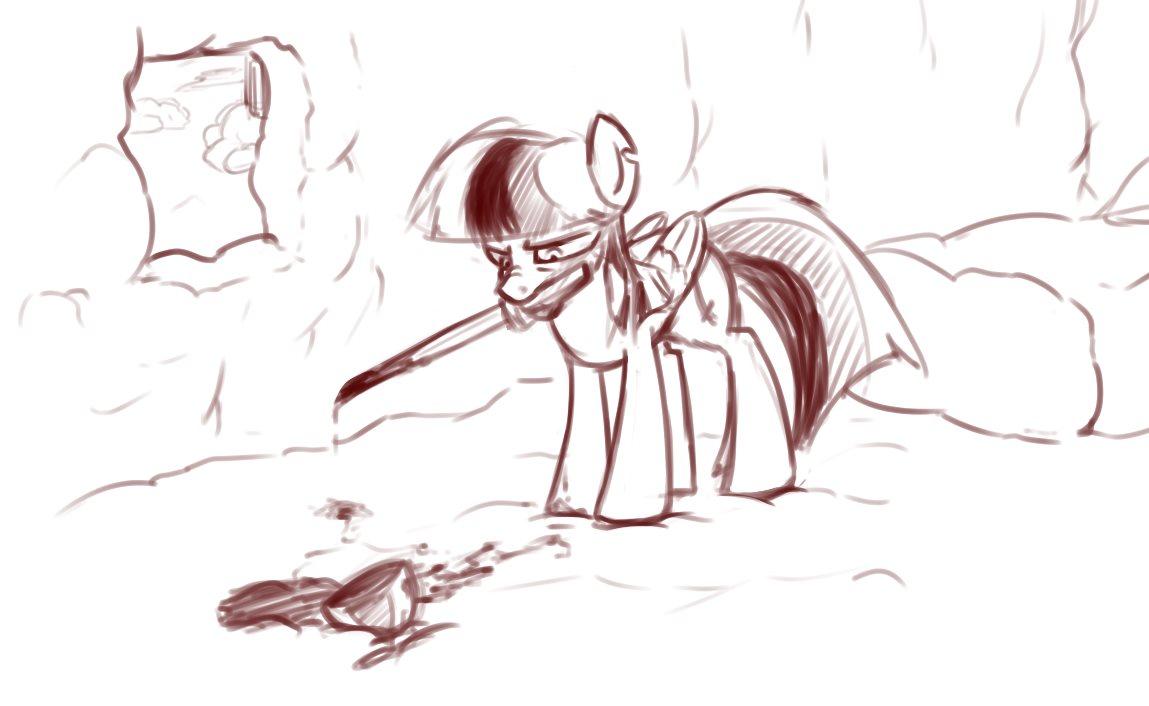 картинки манекены злые пони